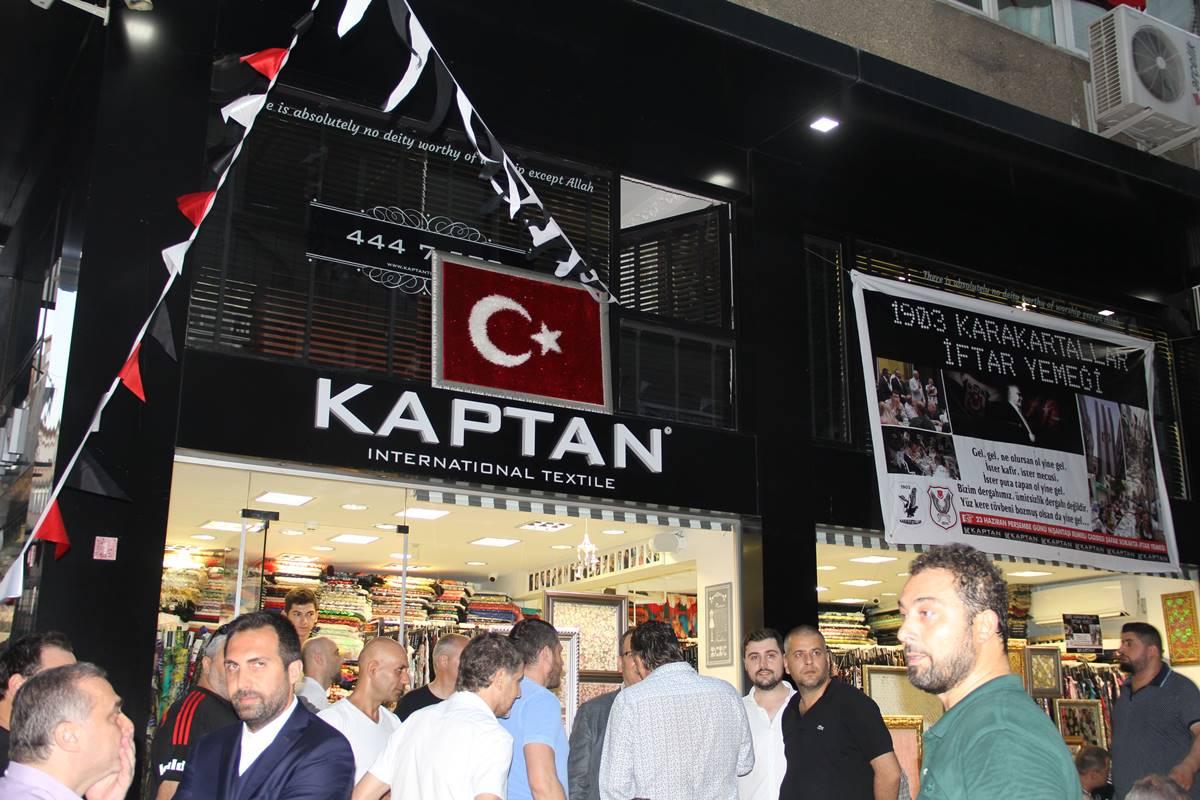 ismail kaptan - kaptan textile ve 1903 karakartallar iftar yemeği
