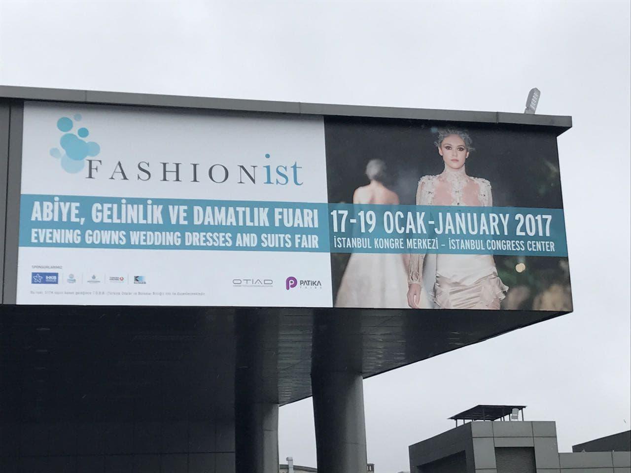 Fashionİst fuarında olmaktan ve ülkemize katkı sağlamaktan gurur duymaktayız.
